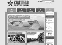 Full Service Camping mit ZELTHELD