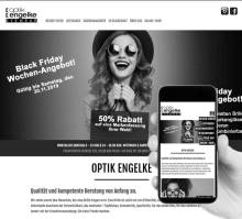 Relaunch der Website von ENGELKE OPTIK